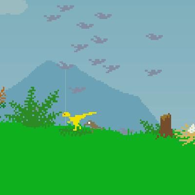 Гра Бегалка з Динозавром