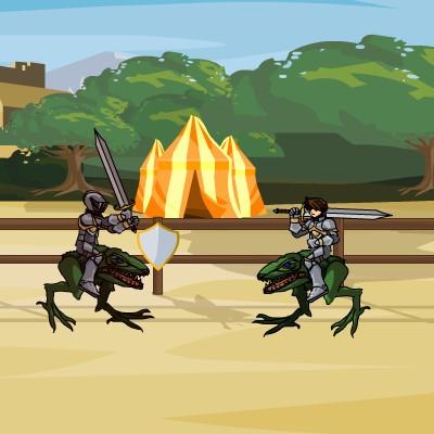 Гра Динозаври: Двобій Лицарів