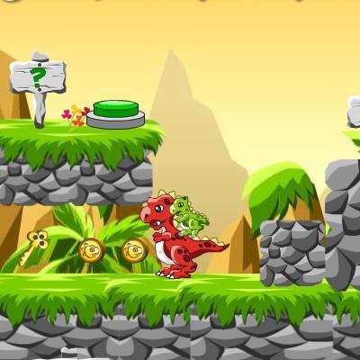 Гра Дует Динозаврів: Обійти Пастки