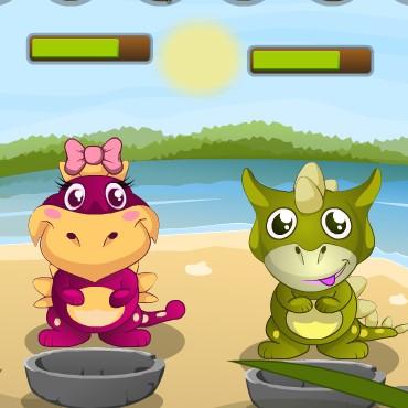 Гра Динозаври: Догляд за Малюками