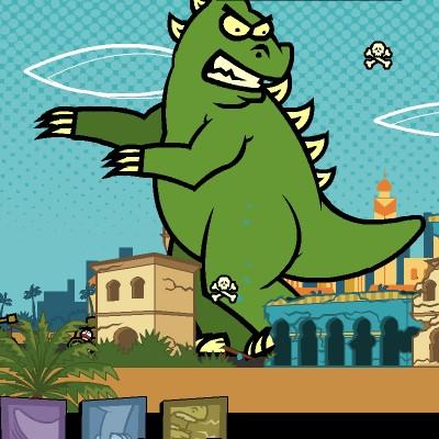 Гра Динозаври: Дні Монстрів