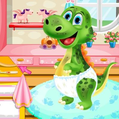 Гра Динозаври: Спа Салон