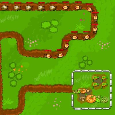 Гра Захист Саду від Жуків