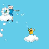 Гра Картун Нетворк: Стрибки по хмарах