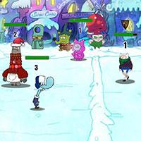 Гра Картун Нетворк: Снігова битва