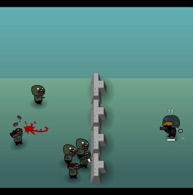 Гра Захист: Десятки Зомбі