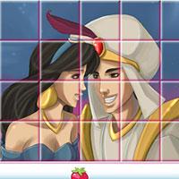 Гра Аладін і Жасмин: грати онлайн безкоштовно!