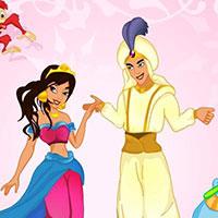 Гра Одягни джина з Аладіна