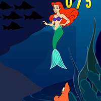 Гра Русалонька 3: Русалонька рахує риб