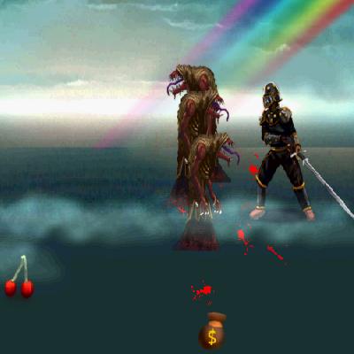 Гра Чорний Лицар проти Монстрів