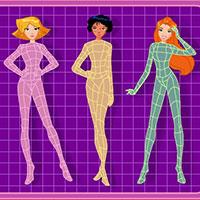 Гра Тоталі Спайс: Одягалка