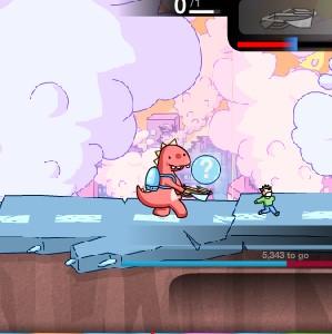 Гра на Спритність: Біг Динозаврів