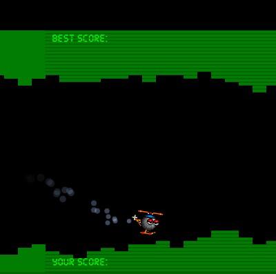 Гра на Спритність: Вертоліт в Печері