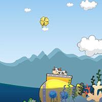 Гра Супер корова на підводному човні: грай безкоштовно!