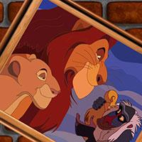 Гра Пазл Король лев