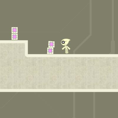 Гра Платформер: Робот і Пастки