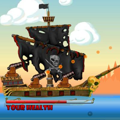 Гра Стріляємо з Гармати Піратів