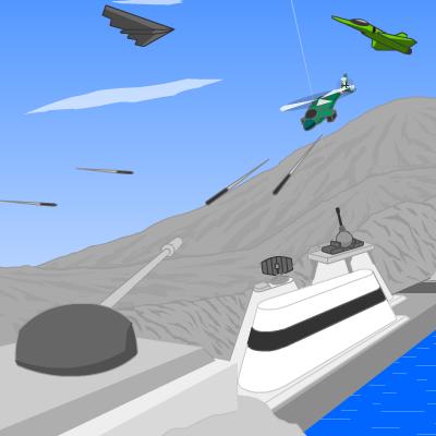 Гра Гармата Фортеці проти Вертольотів