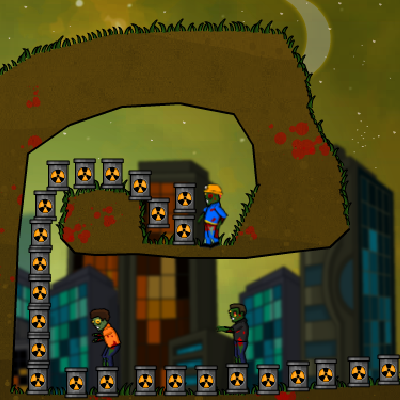 Гра Руйнування з Базуки Зомбі