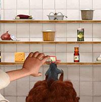 Гра Рататуй запам'ятовує продукти