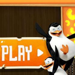 Гра Пінгвіни з Мадагаскару: Три в Ряд