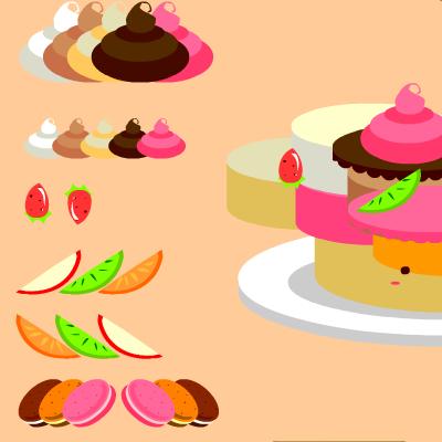 Гра Одяг для Торта