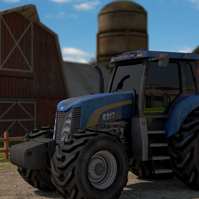 Гра Трактор 3Д: Парковка