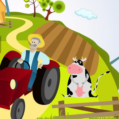 Гра Трактор: Доставка Врожаю