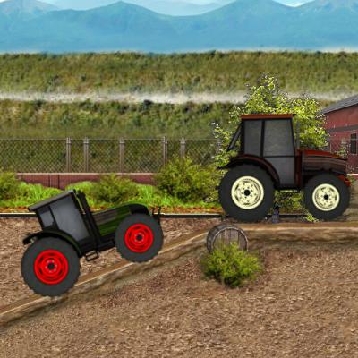 Гра Трактори: Гонки на Фермі