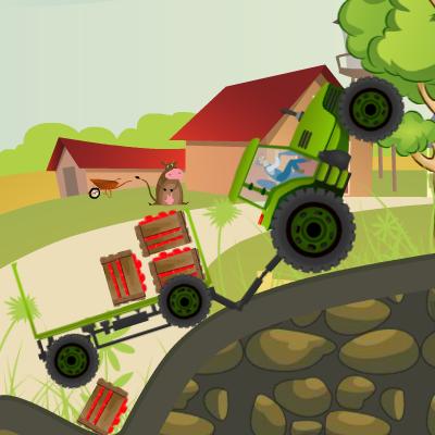 Гра Фермер на Сільському Тракторі
