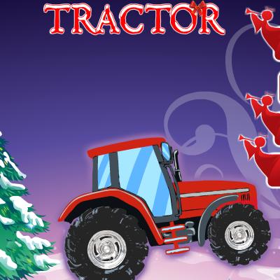 Гра Трактор на Різдво